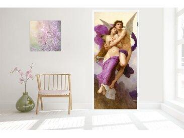 Bilderdepot24 Deco-Panel, Türaufkleber - William-Adolphe Bouguereau - die Entführung der Psyche