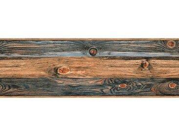 living walls Bordüre »Stick Ups«, glatt, Holz, Holzplanken in Vintage-Optik, selbstklebend