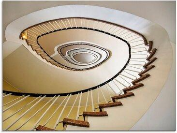 Artland Glasbild »Treppe - Wendeltreppe«, Architektonische Elemente (1 Stück)