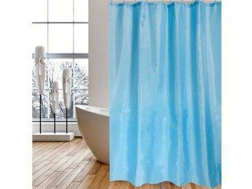 MSV Duschvorhang »Blau« Breite 120 cm, 120 x 200 cm