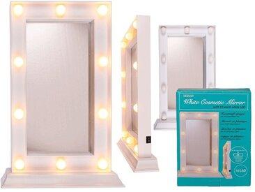Out of the Blue Kosmetikspiegel »Rechteck 34 x 23 cm«, 10 LED's Ein/ Aus Schalter