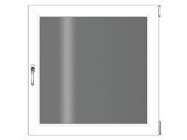 RORO Türen & Fenster RORO TÜREN & FENSTER Kunststoff-Fenster BxH: 75x75 cm, ohne Griff, weiß, rechts, weiß