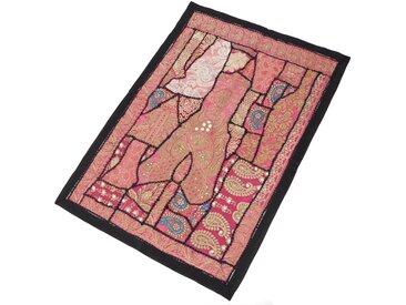 Guru-Shop Wandteppich »Indischer Wandteppich Patchwork Wandbehang,..«, Höhe 65 mm, Muster 1