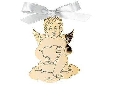 Rosenthal Christbaumschmuck »Silver Collection Angels Gold Engel Anhänger« (1-tlg), Engel mit Herz