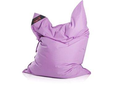 Magma Heimtex Sitzsack »Big Foot«, Indoor / Outdoor geeignet, lila, fliederfarben