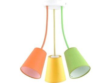 Licht-Erlebnisse Deckenleuchte »BANTA Deckenleuchte Bunt flexibel Kinderleuchte Kinderzimmer Lampe«