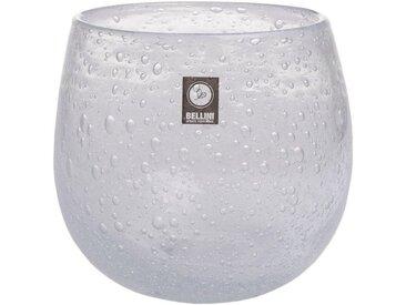 BELLINI Tischvase »Polar« (1 Stück), Windlicht, Höhe ca. 14 cm, weiß, transparent