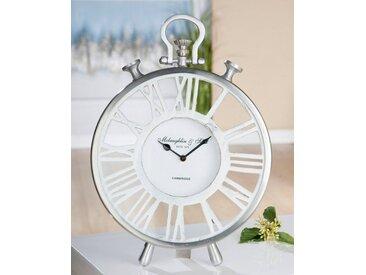 GILDE Standuhr »Uhr Atona« (1-St), rund, römische Ziffern
