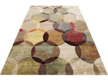 Esprit Teppich »Modernina«, rechteckig, Höhe 13 mm, Kurzflor in moderem Design, grün, multi-grün