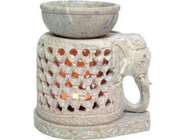 Guru-Shop Duftlampe »Indische Duftlampe, ätherisches Öl Diffusor,..«, Ein Elefant