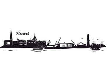 Wall-Art Wandtattoo »Hansa Rostock Skyline mit Logo« (1 Stück)