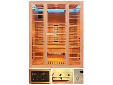 HOME DELUXE Infrarotkabine »Redsun L Deluxe«, BxTxH: 153 x 110 x 190 cm, 45 mm