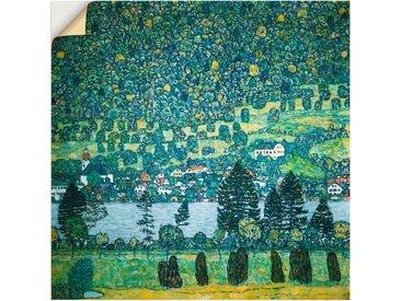 Artland Wandbild »Waldabhang in Unterach am Attersee«, Wald (1 Stück), Wandaufkleber - Vinyl