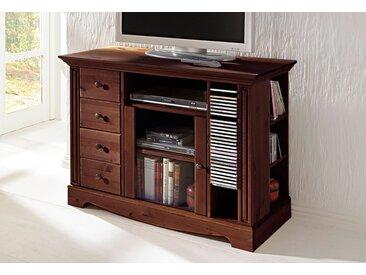 Home affaire TV-Board, Breite 108 cm, Belastbarkeit bis 50 kg, braun, dunkelbraun