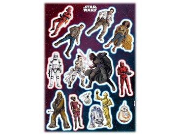 Komar KOMAR Wandtattoo »Star Wars Heroes Villains«, selbsthaftend, rückstandslos abziehbar, bunt, bunt
