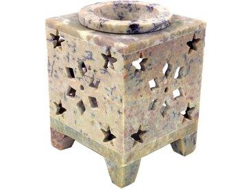 Guru-Shop Duftlampe »Indische Duftlampe, ätherisches Öl Diffusor,..«, Würfel Stern