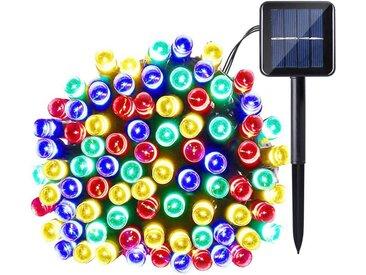 TOPMELON Lichterkette »LED Dekolicht,Solarleuchten«, 100-flammig, Solarenergie betrieben,Wasserdichte, bunt, 100 St. - 100 St., Mehrfarbig