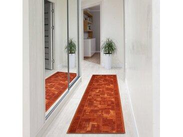 Floordirekt Läufer »Tribe«, rechteckig, Höhe 5.4 mm, orange, Terra