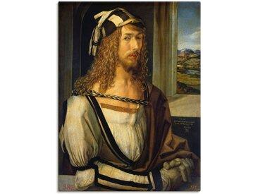 Artland Wandbild »Selbstbildnis mit Landschaft. 1498«, Porträts (1 Stück), in vielen Größen & Produktarten -Leinwandbild, Poster