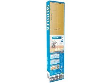 Selit SELIT Trittschalldämmung »SELITFLEX«, für Fußbodenheizung geeignet, weiß, 1,2 x 15 m, 1.6 mm, weiß/gold