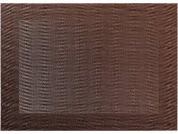 ASA SELECTION Platzset, »pvc colour braun«