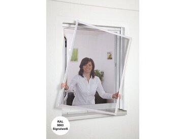 hecht international HECHT Insektenschutz-Fenster »Basic «, Bausatz weiß, in verschiedenen Größen, grau, Fenster, 100 cm x 120 cm, anthrazit