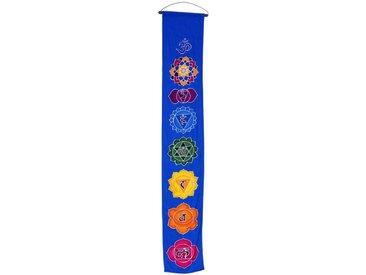 Guru-Shop Wandteppich »Boho Wandbehang, Batik Wandschmuck - Mandala blau«, Höhe 150 mm, Mandala blau