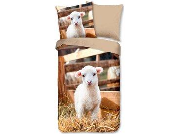 good morning Kinderbettwäsche »Lamb«, mit Lämmchen