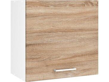 HELD MÖBEL Hängeschrank »Visby« Breite 60 cm, braun, eichefarben