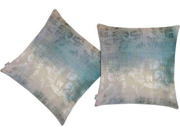 Neutex for you! Kissenhülle »Endola«, blau, grau-blau