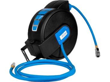 Güde GÜDE Druckluftschlauch-Aufroller 8 m Schlauchlänge, blau, blau