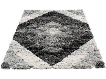 Sehrazat Hochflor-Teppich »Bahama 8815«, rechteckig, Höhe 30 mm, Hoch-Tief-Struktur