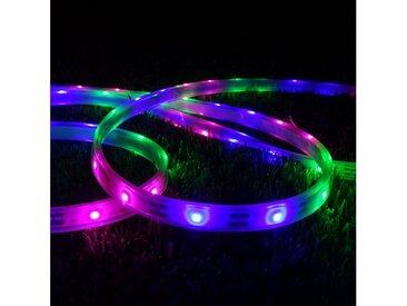 SPOT Light Gartenleuchte »Boa LED«, Marke: CALI, Solarbeleuchtung in Form eines LED-Streifens, RGB-LED-Streifen, Eingebauter Dämmerungssensor