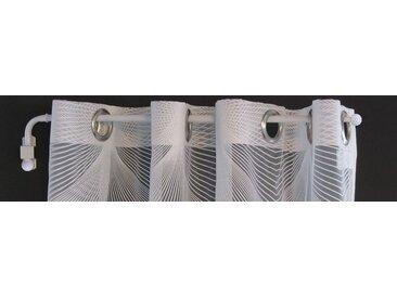 indeko Schwenkstange »Schwenkstange«, Ø 12 mm, 1-läufig, ausziehbar, weiß, weiß