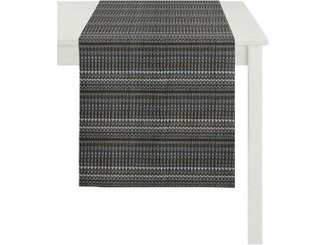 APELT Tischläufer »1099 Herbstzeit, Jacquard« (1-tlg), grau, anthrazit-grau