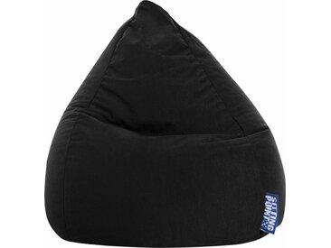 Sitting Point Sitzsack »EASY L«, schwarz, schwarz