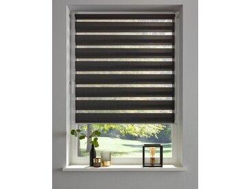 my home Doppelrollo »Minu«, Lichtschutz, ohne Bohren, freihängend, im Fixmaß, grau, grau