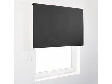 casa pura Verdunklungsrollo »Blackout«, Lichtundurchlässig, mit Thermobeschichtung, schwarz, schwarz