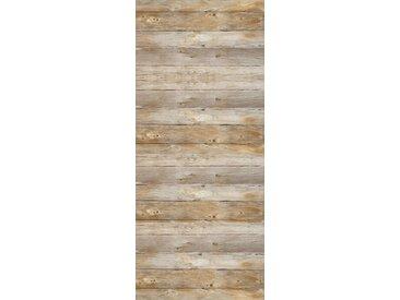 MySpotti MYSPOTTI Duschrückwand »fresh F1 Holz«, 100 x 255 cm, braun, 100 cm, braun