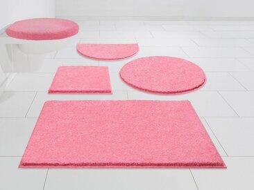 GRUND exklusiv Badematte »Unico« , Höhe 22 mm, rutschhemmend beschichtet, weiche Haptik, rosa, pink