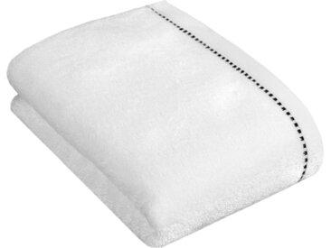 Esprit Duschtuch »Box Solid« (1-St), mit Bordüre, weiß, white