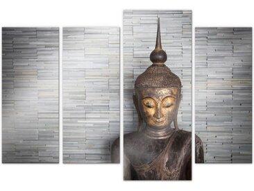 Wall-Art Mehrteilige Bilder »Thailand Buddha Set (4-teilig)«, (Set, 4 Stück)