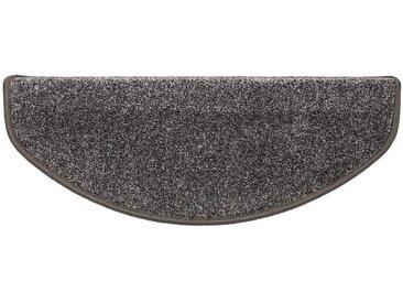 Kubus Stufenmatte »Toulon«, Halbrund, Höhe 10 mm, grau, Grau