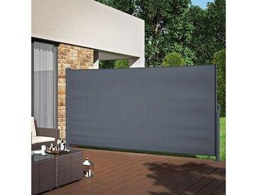 Oskar Seitenarmmarkise »ALU Seitenmarkise Sichtschutz 180x350cm Sonnenschutz Seitenrollo Markise 280g/m²«