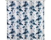 WENKO Duschvorhang »Rose Bleu« Breite 180 cm, weiß