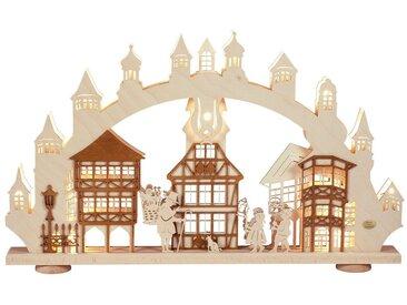 SAICO Original 3D-Lichterbogen Altstadtromantik, natur, Natur