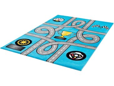 Sanat Kinderteppich »Bambino 2115«, rechteckig, Höhe 12 mm, Kinder Straßen-Spielteppich, Kurzflor