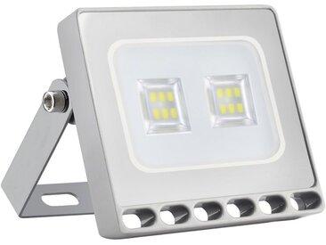 awortek LED Flutlichtstrahler »10W LED Flutlichtstrahler SMD Außenstrahler Warmweiß LED Fluter«, weiß, Kaltweiß