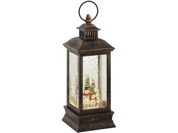 LED Laterne »Schneemänn«, mit weihnachtlichen Figuren, Höhe ca. 27,5 cm