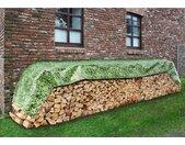WENKO Schutzplane »Wilder Wein«, 150x600 cm, grün